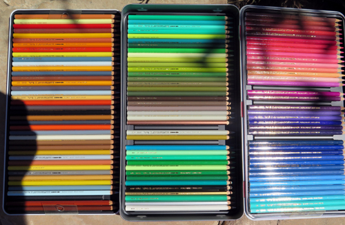 CARAN D'ACHE 120 COLOR ARTISTS PENCIL SET